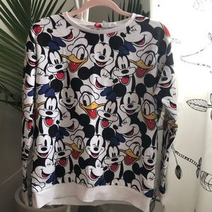 magic long sleeves, mickey and friends